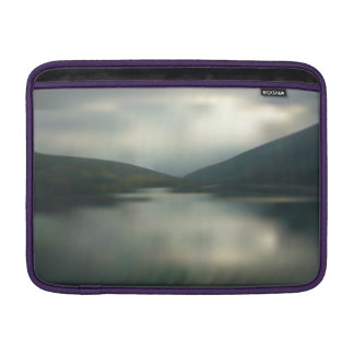 Lake in the mountains MacBook sleeve