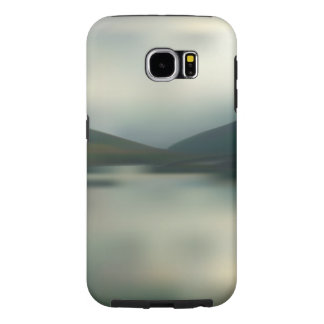 Lake in the mountains samsung galaxy s6 cases