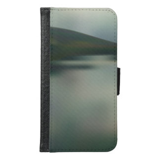 Lake in the mountains samsung galaxy s6 wallet case