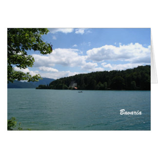 Lake in Upper Bavaria Card