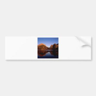 Lake Jenny Grand Teton Park Wyoming Bumper Sticker