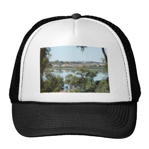 Lake Joondalup (Western Australia) Viewed From The Hat