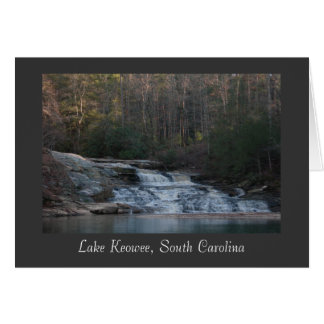 Lake Keowee Waterfall (Title) Card