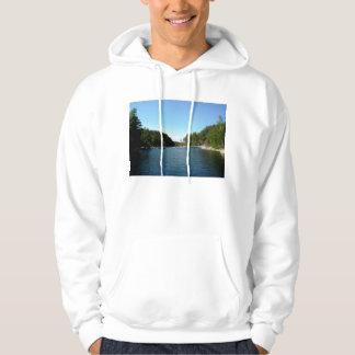 Lake Ladoga Landscape Hoodie