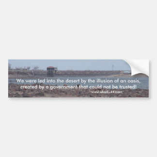 lake lahontan Fallon Nevada Churchill County Bumper Sticker