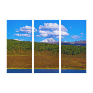 Lake landscape canvas print