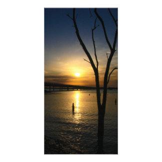 Lake Landscape Picture Card
