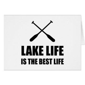 Lake Life Best Life Card