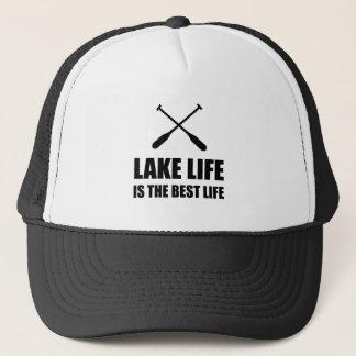 Lake Life Best Life Trucker Hat