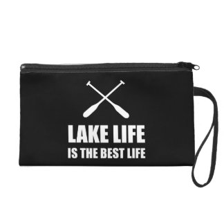 Lake Life Best Life Wristlet