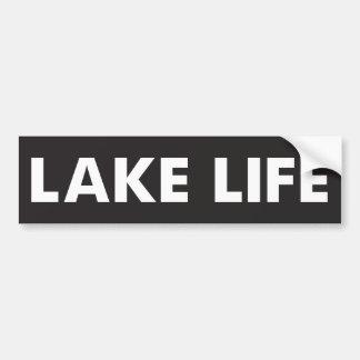 Lake Life Bumper Sticker