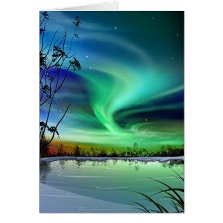 Lake Lights Card