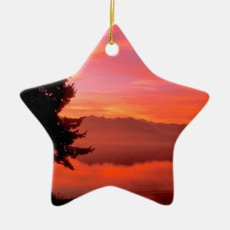 Lake Living Waters Hood Canal Christmas Tree Ornaments
