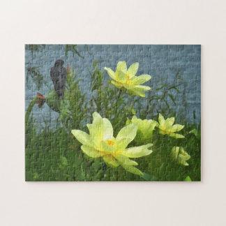 Lake Lotus Swallow Puzzle