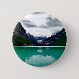 lake-louise-1747328 6 cm round badge