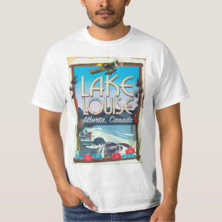 Lake Louise, Alberta Canada travel poster T-Shirt