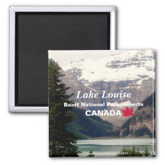 Lake Louise/Banff National Park, Alberta Canada Magnet