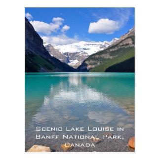 Lake Louise in Banff National Park Postcard