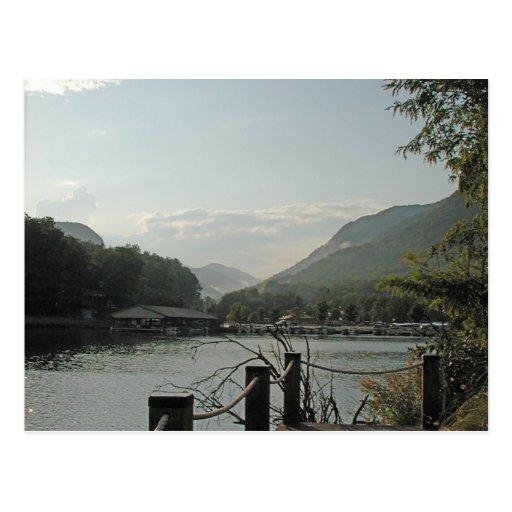 Lake Lure Sunset Postcards