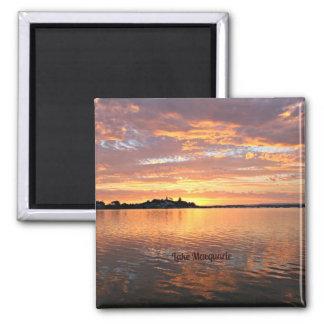 Lake Macquarie, New South Wales, Australia Square Magnet