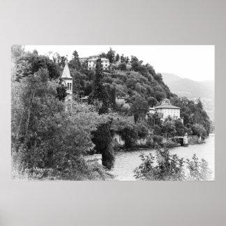 Lake Maggiore View Poster