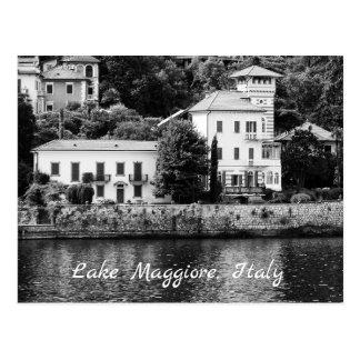 Lake Maggiore Villa Postcard