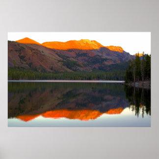 Lake Mary Reflection Poster