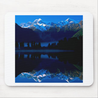 Lake Mason Reflects Tasman Cook New Zealand Mouse Pad