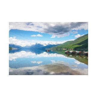Lake McDonald Canvas Print