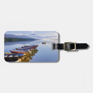 Lake McDonald, Glacier National Park, Montana, Bag Tags
