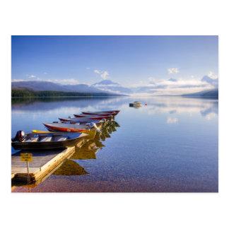 Lake McDonald, Glacier National Park, Montana, Postcard