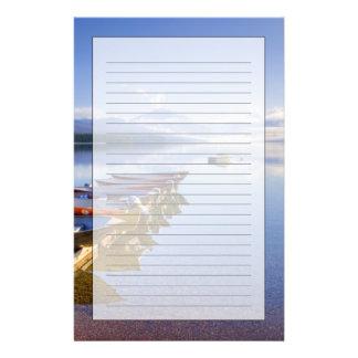 Lake McDonald, Glacier National Park, Montana, Stationery Paper
