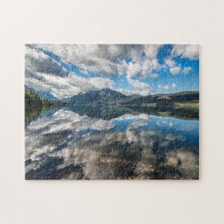Lake McDonald Glacier Park . Jigsaw Puzzle