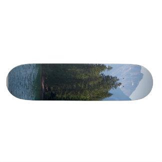 Lake Mcdonald In Glacier National Park Montana Skate Board