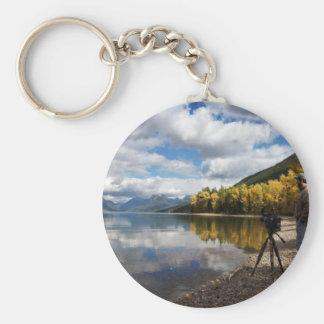 Lake McDonald, MT Keychains