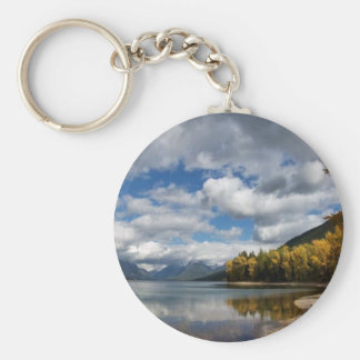 Lake McDonald, MT Key Chains