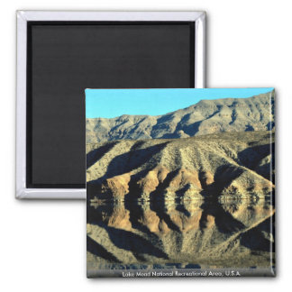 Lake Mead National Recreational Area, U.S.A. Square Magnet