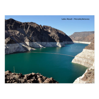 Lake Mead near Hoover Dam Postcard