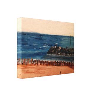 Lake Michigan Blue Canvas Print