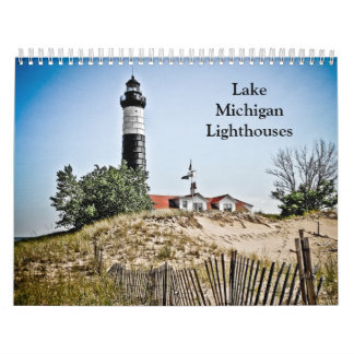 Lake Michigan Lighthouses Calendars