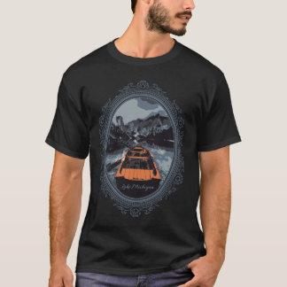 Lake Michigan Picture Frame T-Shirt