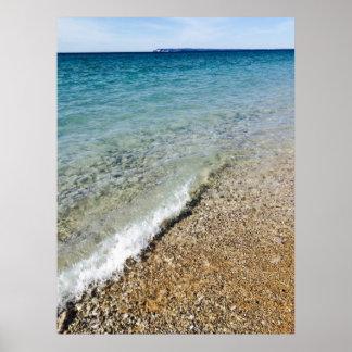 Lake Michigan Shore Poster