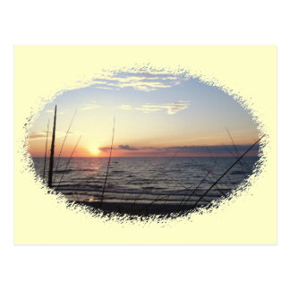 Lake Michigan Sunset Postcard
