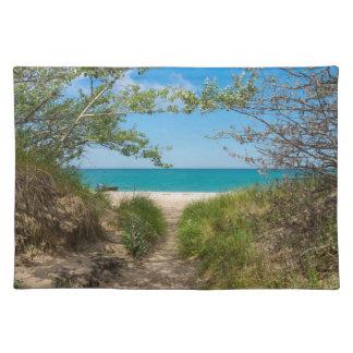 Lake Michigan Tranquility Placemat