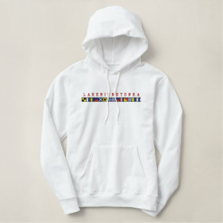 Lake Minnetonka Nautical Code Flag Sweatshirt