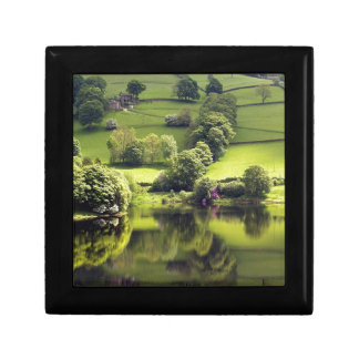 Lake Mirror Beauty Reflection Trinket Box