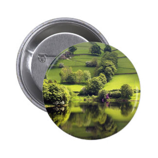 Lake Mirror Beauty Reflection Pin