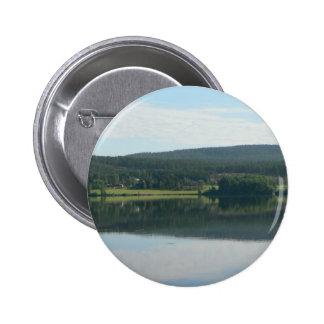 Lake Mirror Pinback Button