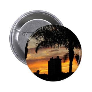 Lake Mirror Sunset Pin