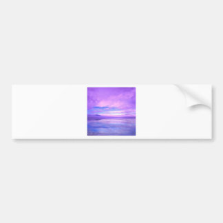 Lake Mirrored Serenity Hood Canal Seabeck Bumper Stickers